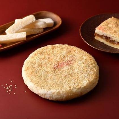 一斤半赤肉餅